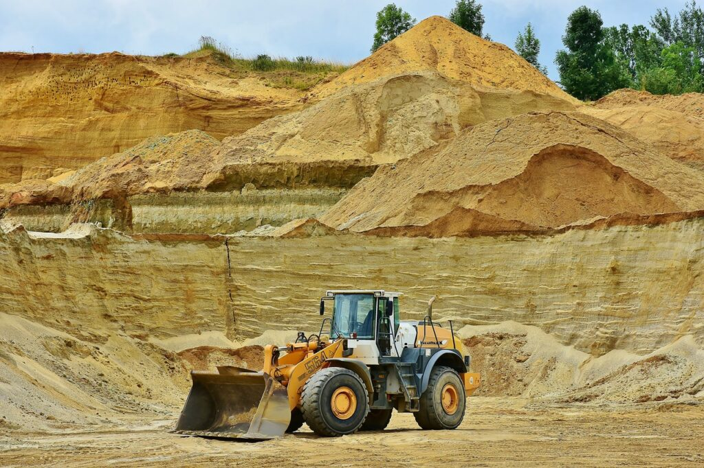 Construction Extractive industries: Mining & Cement